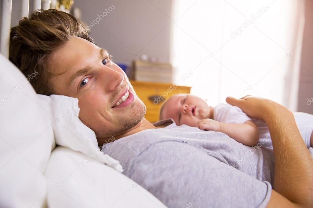 بهبود رابطه پدر و نوزاد
