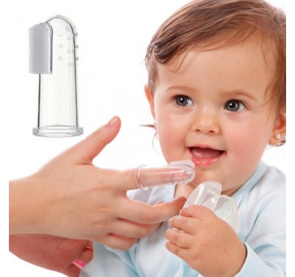 ssiimm  font b baby b font font b toothbrush b font with case dust shield infant - روشهای آسان رفع بوی نامطلوب سیر